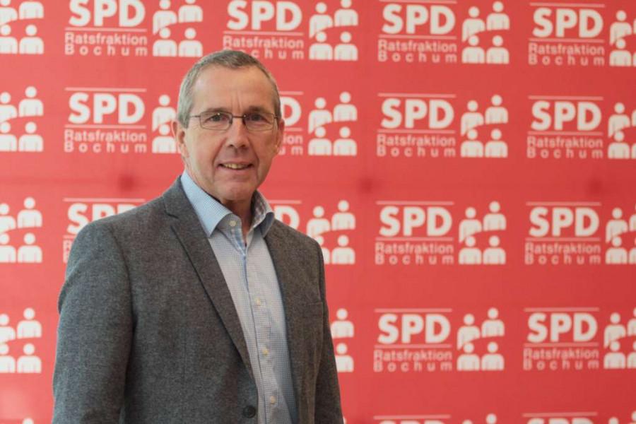 SPD-Ratsmitglied Ernst Steinbach hat Kritik am Vorentwurf der Rahmenplanung Gerthe-West.