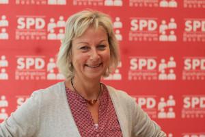 SPD-Ratsmitglied Martina Schnell fordert die Verwaltung auf, zu prüfen, ob sich Bus- und Umweltspuren in Bochum sinnvoll umsetzen lassen.
