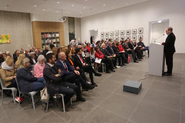 Festveranstaltung zu Ehren von Bernd Faulenbach und Christoph Zöpel: Blick auf das Publikum