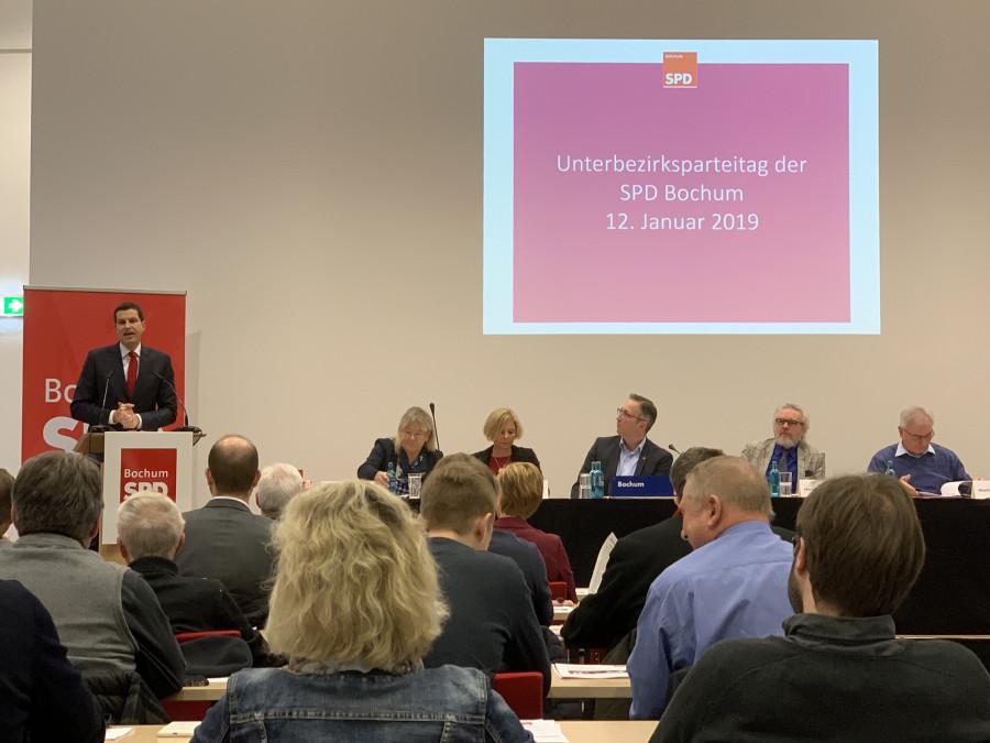 Parteitag der SPD Bochum #spdBOpt (12.01.2019): Bochums Oberbürgermeister Thomas Eiskirch
