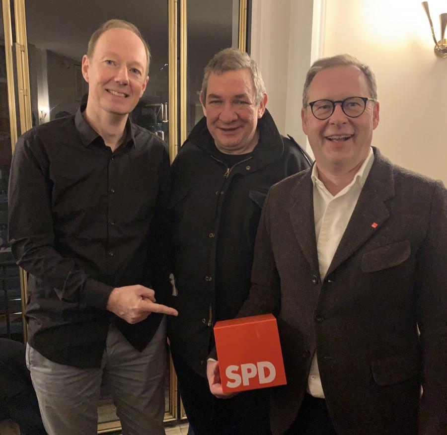 #WirSindSGWattenscheid09 - Martin Sonneborn, Wolfgang Wendland und Karsten Rudolph