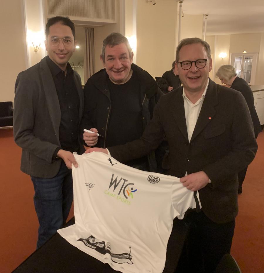 #WirSindSGWattenscheid09 - Signiertes Trikot (mit Oliver Basu Mallick, Wolfgang Wendland und Karsten Rudolph)