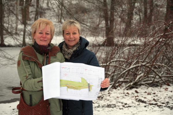 SPD-Ratsmitglied Martina Schnell und Christiane Laschinski aus der SPD-Bezirksfraktion Bochum-Mitte wünschen sich eine starke Bürgerbeteiligung.