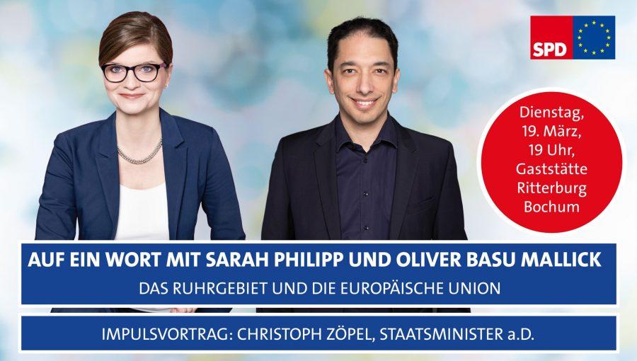 Auf ein Wort mit Oliver Basu Mallick und Sarah Philipp