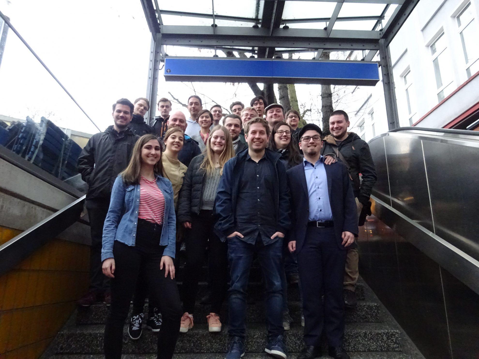Auf ein Pils mit Kevin Kühnert und Oliver Basu Mallick: Die Jusos in der SPD Bochum sind bereit für den Europawahlkampf!
