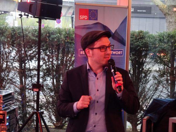 Auf ein Pils mit Kevin Kühnert und Oliver Basu Mallick: Martin Schottek (Vorsitzender der Jusos in der SPD Bochum)