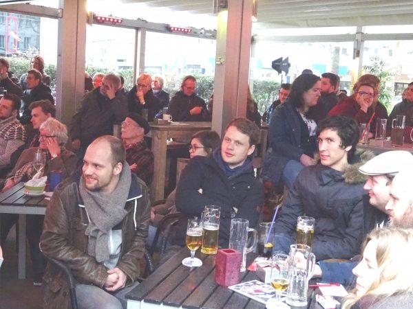 Auf ein Pils mit Kevin Kühnert und Oliver Basu Mallick: Publikum