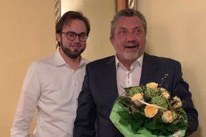 Bastian Hartmann und Gerd Lichtenberger