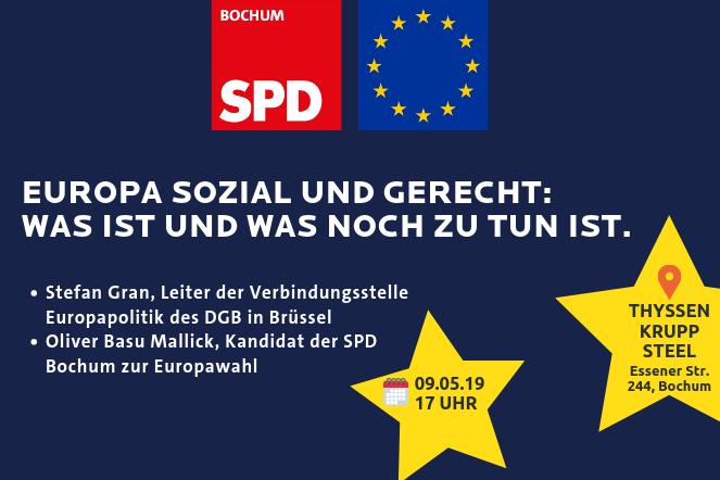 Europa sozial und gerecht. Was ist und was noch zu tun ist.