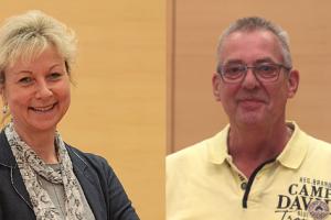 Martina Schnell und Reiner Rogall wollen die Verkehrswende vorantreiben.