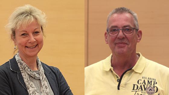 Martina Schnell und Reiner Rogall haben sich intensiv mit dem Leitbild Mobilität auseinandergesetzt.