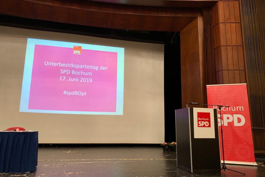 Unterbezirksparteitag der SPD Bochum 17. Juni 2019 #spdBOpt