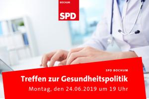 SPD Bochum: Treffen zur Gesundheitspolitik