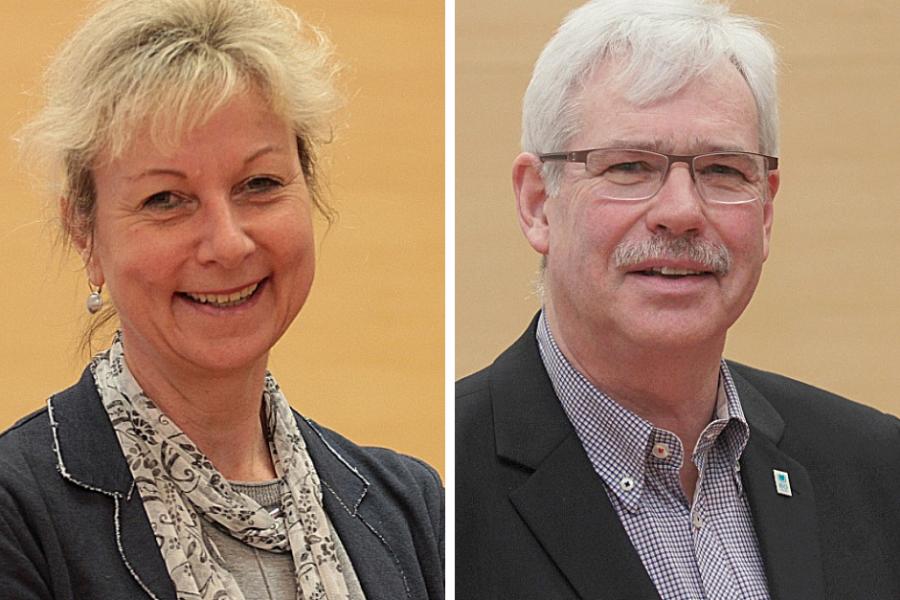 Die SPD-Ratsmitglieder Martina Schnell und Dr. Peter Reinirkens wollen, dass Bus und Bahn in Bochum einen Tag lang kostenlos fahren.