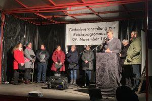 Gedenkveranstaltung zur Reichspogromnacht am 9. November 2019: Oberbürgermeister Thomas Eiskirch