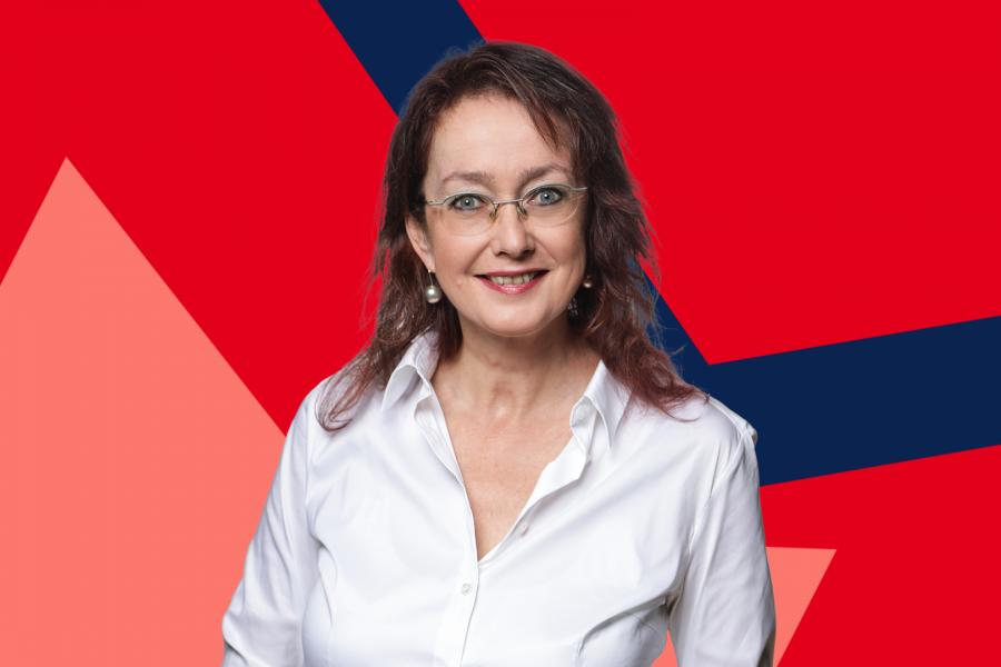 Simone Gottschlich unterstützt die Investition in die Sportanlage am Pappelbusch.