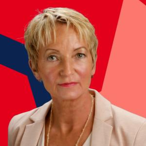 Martina Schmück-Glock möchte die Gewerbefläche Thiemannshof nachhaltig entwickeln.