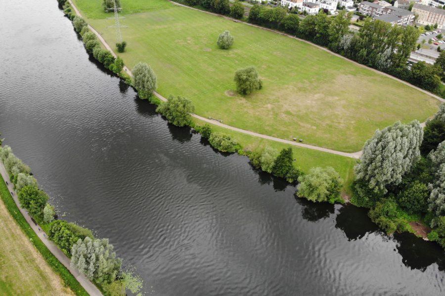 An diesem Abschnitt der Ruhr könnte schon bald eine Badestelle eingerichtet werden.