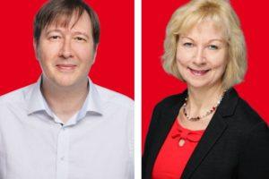 Markus Knapp und Martina Schnell setzen sich dafür ein, dass Kinder weniger unter den sozialen Corona-Folgen leiden müssen.