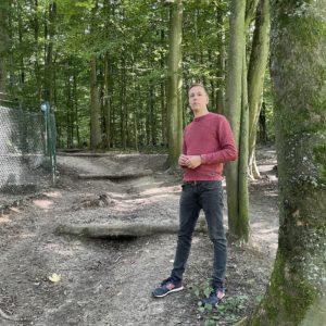 Tim Radzanowski hat sich vor Ort den Zustand der Wege angesehen.