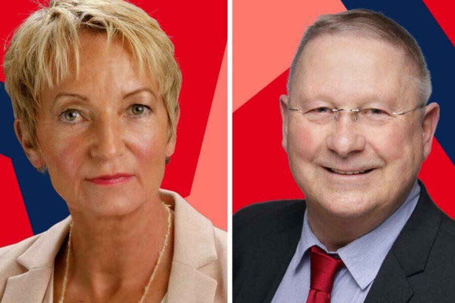 Martina Schmück-Glock und Alfred Guth